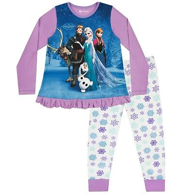Disney Frozen Pyjamas | Anna & Elsa PJs | Frozen PJs | Frozen Pyjama Set | NEW