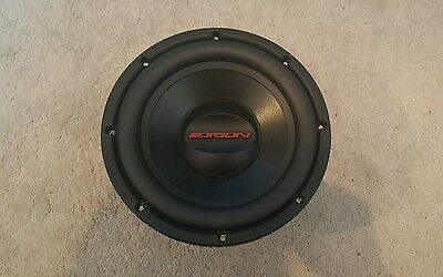 Orion 10 Inch Power Series Dual 4 Ohm Subwoofer. 500 Watts Rms !!!
