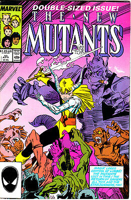 Lote #  87 (12 Numeros ) Marvel Usa:  New Mutants # 50.54 Al58,63 Al 66,70+Ann 4