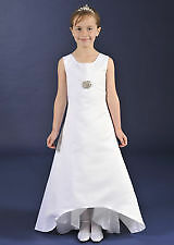 Brand New Sarah Louise Holy communion Dress Summer White size 6 Years