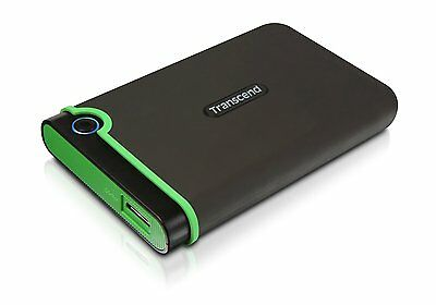 Transcend 1TB 2.5 inch USB 3.0 Military-Grade Shock Resistance Portable HDD