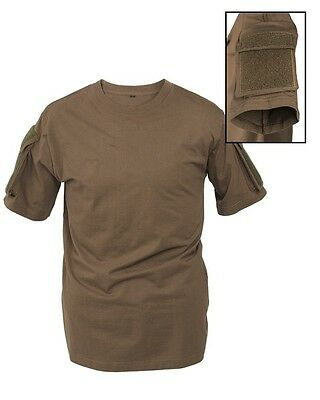 Mil-Tec Tactical T-Shirt Oliv Airsoft Paintball Military Army Outdoor S-3Xl