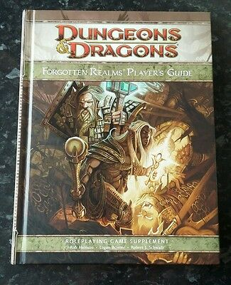 Forgotten Realms Players Guide - Dungeons & Dragons 4Th Edition - Fantasy D&d