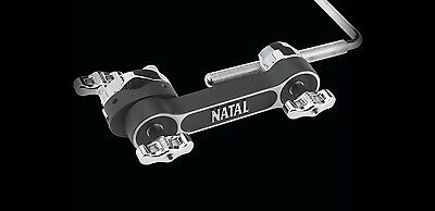 Natal Percussion Clamp, Holder, Cowbell, Tambourine, Universal Size for Drum Kit