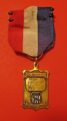 Scarce Antique 1930 Union Pacific Railroad System Trapshooting Competition Medal