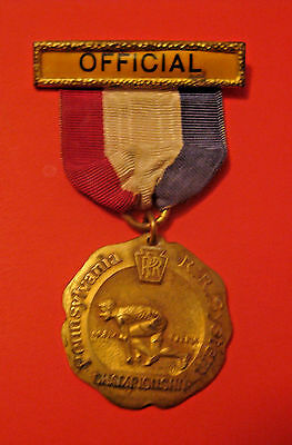 Rare Antique 1927 Pennsylvania Railroad System Championship Competition Medal