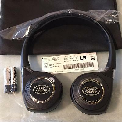 New Genuine Land Rover Headphones Dvd Tv Entertainment System Wireless Headset