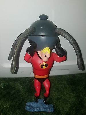 The Incredibles Mr Incredible Spinning Light Omnidroid Disney ON ICE figure
