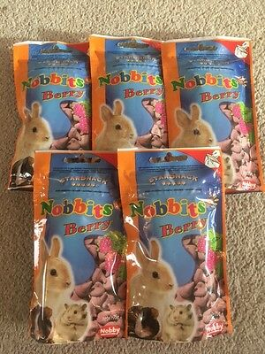Small Animal Berry Drop Treats - Job Lot (JUST OUT OF DATE)