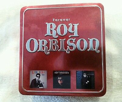 Forever Roy Orbison Collector's Edition Tin Metal Box 3 CD Disc Set