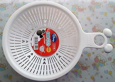 New Disney Mickey Mouse Kitchen Vegetable Fruit Washing Bowl Made in Japan