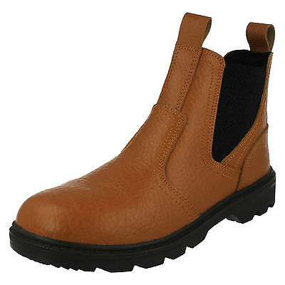 Wholesale Mens Safety Boots 10 Pairs Sizes 7-11  A3048 SAFETY