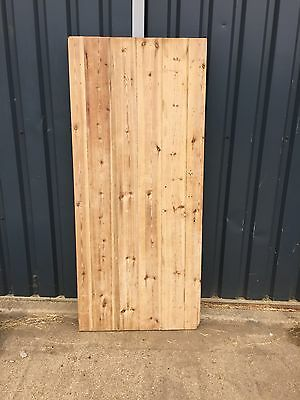 Reclaimed Stripped Pine Ledge Cottage Door