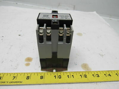 Square D 8501 XO40V Series A AC Control Relay 120V Coil Open Type