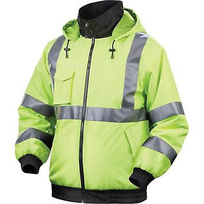 Brand new 12 v Lithium-Ion Cordless Heated Reflective Hoodie Jacket Coat