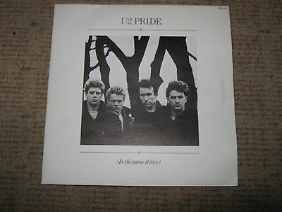 "U2 ""Pride(In The Name of Love)"" 7"" double single."