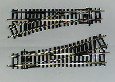 Two New Hornby Railways Oo Gauge R 8072 Left Hand Standard Points