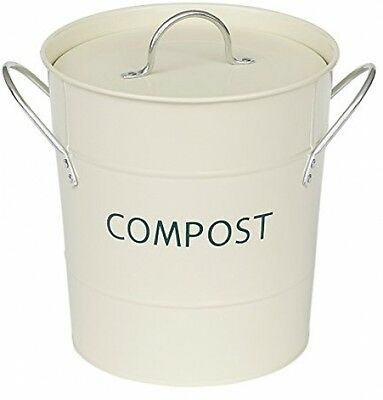 Victor Compost Bin With Liner, Champagne