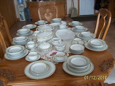 Heinrich & Co. Selb Bavaria Imperial Vtg. Porcelain China 77 Piece Grouping
