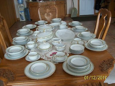 Heinrich Selb Bavaria Imperial Vintage Porcelain China 77 Piece Stunning Set