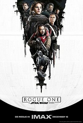 Rogue One: A Star Wars Story Original Imax 13X19 Poster Art Print