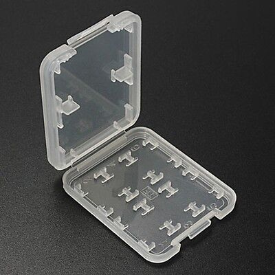 8 Slots Storage Case Box Holder For Micro SD TF SDHC MSPD Memory Card