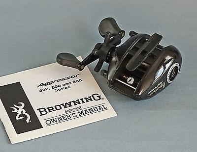 Carrete Casting Browning Agressor A351, ideal Bass y Lucio