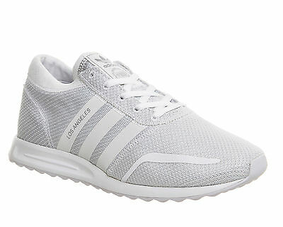 Mens Adidas Los Angeles White Trainers UK Size 9 * Ex Display