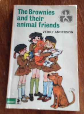 THE BROWNIES AND THEIR ANIMAL FRIENDS - Vintage paperback Verily Anderson 1974