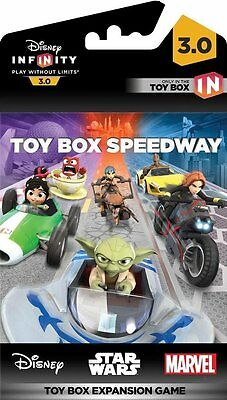 Toy Box Speedway Disney Infinity3.0 ExpansionGame PS4 Xbox 360 PS3 Nintendo Wii