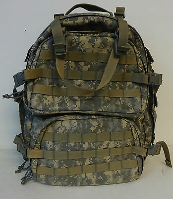 LBT 1562-A Backpack Medical Tactical Field Care Jumpable Large ACU Gently Used