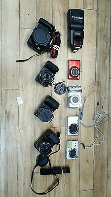 Job lot *Faulty* Cameras (Samsung, Fuji, Nikon)