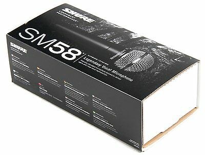 Shure SM58 Vocal Microphone - UK SELLER - Free Shipping - Fast Dispatch