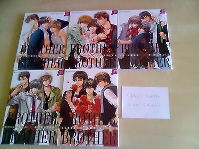 Brother X Brother Vol 1 à 5 Complet Yaoi