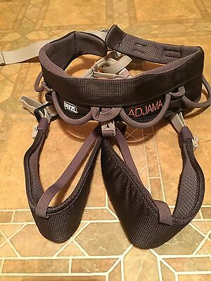"Petzl Adjama Adjustable Climbing Harness - S/m - "" Excellent Condition"""