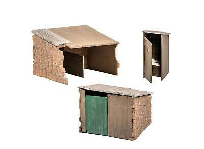 Grotty huts/privy - OO/HO Building – Wills SS19 - free post