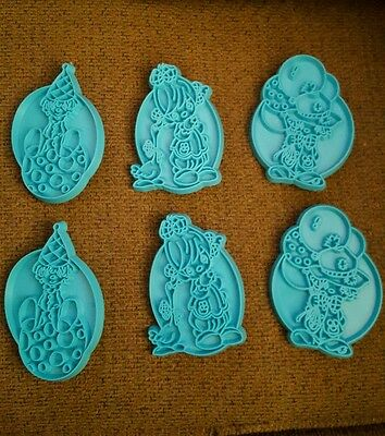 Precious Moments Clown Cookie Cutters 6 Piece