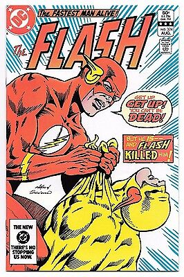 The Flash #324 High Grade Key NM Death of Reverse Flash (Professor Zoom) DC 1983