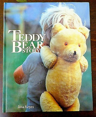 The Teddy Bear Story Reference Hardcover Josa Keyes 1985 Photo Gallery Book