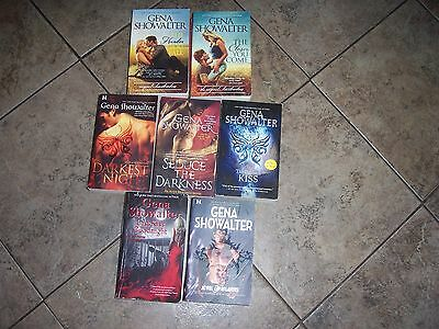 Lot of 8 Romance books by Gena Showalter