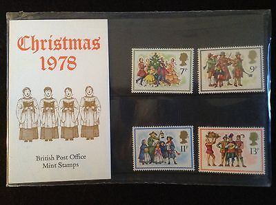 GB Royal Mail 1978 Presentation Pack #104 CHRISTMAS - Low S&H