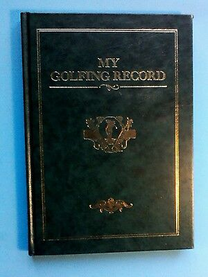 Golfing Record Book by Studio Editions 1991.
