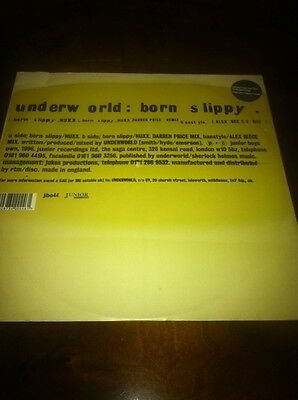"Underworld - Born Slippy 12"" Vinyl"