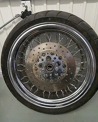 "260 x 18"" 60 spoke motorbike wheel for harley"
