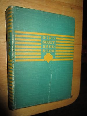 Vintage Girl Scout Handbook for the intermediate Program 1940 -FIRST IMPRESSION
