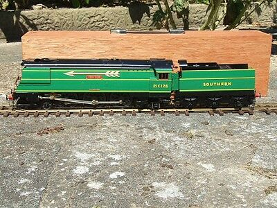"Gauge 1 Aster SR West Country Class Bulleid Pacific ""Yes Tor"" 21C126 Live Steam"