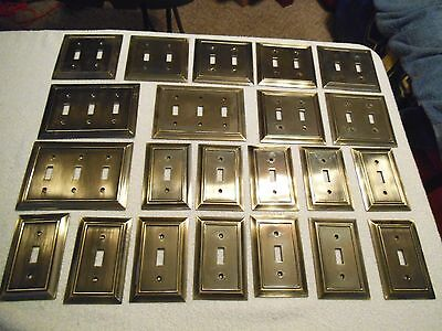 Solid Brass Light Switch Covers