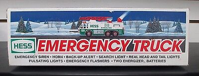 Hess Emergency Truck In Original Box Christmas Toy