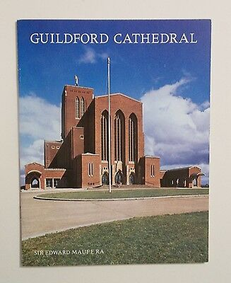 Guildford Cathedral, Surrey.  Pitkin guidebook 1973