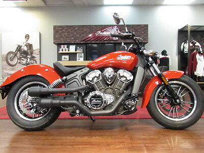 Indian Scout®  2016 Scout Wild fire Red